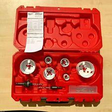 Milwaukee HOLEDOZER 10 Piece Electrician's Bi-Metal Hole saw Set 49224201
