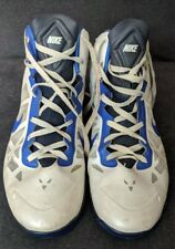 Men's Nike Basketball Shoes White Black US 13