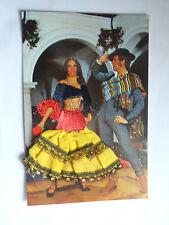 CPSM Danseurs Espagnole en costume