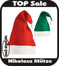 (1,19€/Stück) 10x Christmas Hat / Nikolaus Mütze