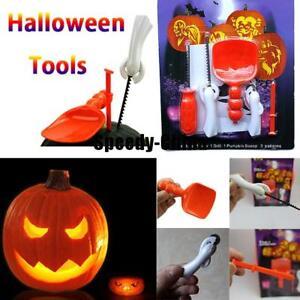Useful 5 Pc Pumpkin Carving Tool Set Kit Kids Halloween Party Cutting Tools