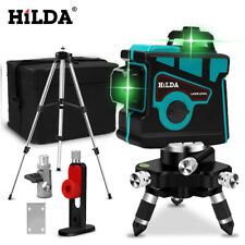 New Laser Level 12 Lines 3D Level Self-Leveling 360 tiling joinery not hilti