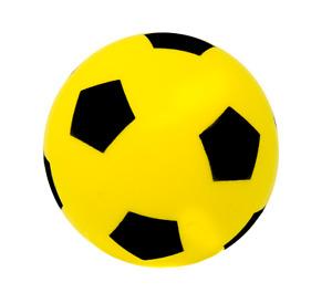 E-Deals Soft Foam Sponge 20cm Ball Indoor Outdoor Kids Children Fun - Yellow