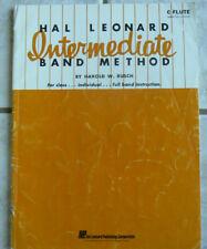 Hal Leonard C FLUTE Intermediate Band Method Book,Harold Rusch,1961