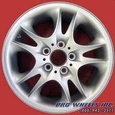 "BMW X3 2004 2005 2006 17"" SILVER FACTORY ORIGINAL OEM WHEEL RIM 59523"