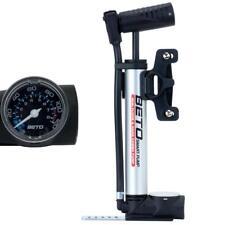 Fahrradpumpe Minipumpe Beto Standpumpe mit Manometer mini Standpumpe FV AV DV