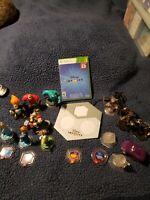 Microsoft XBOX 360 Disney Infinity 2.0 Video Game Set + HUGE Lot 17 Play Pieces