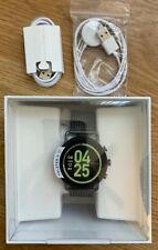 NEW Skagen Connected Falster 3 Steel Mesh Touchscreen Smartwatch metal w/extras