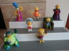 Lot Simpsons Figures Burger King, Fox, McDonald's Halloween Bart Lisa Marge 2011