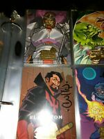 2008 (Partially Signed) Marvel Masterpieces Series 3  Card Set  #1-90