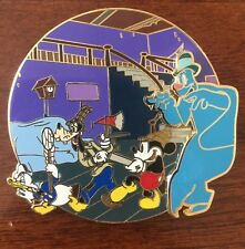 Lonesome Ghost Fantasy Tales Mickey Goofy Disney limited pin 33 Glow In The Dark