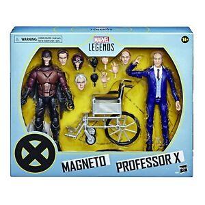 Marvel Legends X-Men Magneto & Professor X Action Figures - Brand New