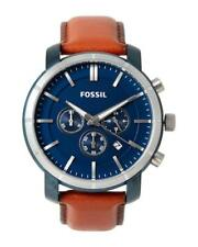 FOSSIL Lance Herren-Chronograph braun/blau Lederarmband BQ2159  -NEU/OVP-