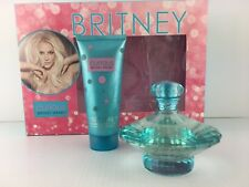 CURIOUS By Britney Spears Perfume 2PC GIFT SET 3.3 OZ + BODY SOUFFLE NEW IN BOX