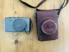 Leica D-LUX 4 10.1MP Digital Camera - Titanium with Leather Case