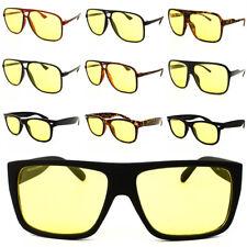 Lente de conducción Visión nocturna Gafas De Sol Amarillo UV400 para hombre para mujer Gafas