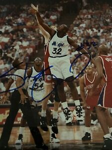 *SHAQUILLE O'NEAL*SIGNED*AUTOGRAPHED*8x10 PICTURE*ORLANDO*MAGIC*