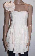 Cooper St Designer Pearl Pink Lace One Shoulder Dress Size 10/S BNWT #SW101