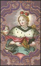 SANTINO HOLY CARD IMAGE PIEUSE - SANTA ELISABETTA D'UNGHERIA - REGINA