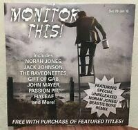 Monitor This! Promo CD with unreleased Norah Jones /  Beastie  Boys Remix