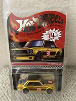 2020 Hot Wheels Red Line Club RLC '71 Datsun 510 Gold - #1564/15000 Low Number!