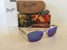 New Maui Jim Kawika Polarized Sunglasses B257-05CR Crystal/Blue Hawaii Glass