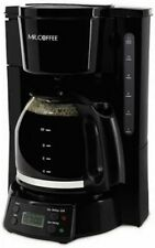 Mr. Coffee Simple Brew 12-Cup Switch Coffee Maker Black open box