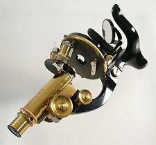 LEICA Leitz Mikroskop microscope Messing brass antique beautiful 1913