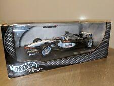 Hot Wheels McLaren Mercedes F1 MP4-17 2002 Kimi Raikkonen 1:18 scale model