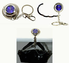 Handbag Bag Purse Hanger Holder Hook Crystal Rhinestone Watch Keychain Brand NEW