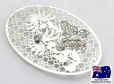 Deluxe Flower & Butterfly Filigree 6pc - Craft DIY Suncatcher
