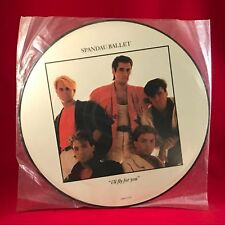 """SPANDAU BALLET I'll Fly For You 12""""  Vinyl PICTURE DISC Single EXCELLENT COND  B"""