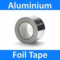 Aluminium Foil Tape 48mm x 45m Roll Self Adhesive Insulation Reflective Duct