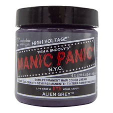 Alien Gray Manic Panic Vegan 4 Oz Hair Dye Color Grey