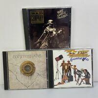 Mixed Rock 80's 90's Music CD Lot of 3 ZZ Top Whitesnake Bad Company