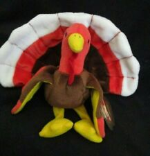 TY  Beanie Baby Gobbles The Turkey DOB November 27, 1996 MWMT
