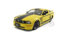 2006 FORD MUSTANG GT YELLOW #1 1:24 DIECAST MODEL CAR BY MAISTO 31324