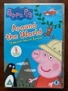 Peppa Pig  DVD Around the World British TV / Children's Cartoon Favourite