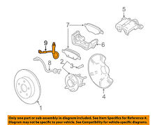 GM OEM ABS Anti-lock Brakes-Rear Speed Sensor 96626080