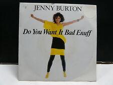 JENNY BURTON Do you want it bad enuff 789343 7