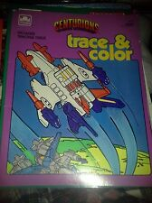 Centurions Power Extreme! Trace & Color Coloring Book Golden 1986