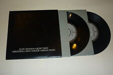 "ULTRAVOX - Slow Motion/ Quiet Men - 1977 UK 4-track 7"" vinyl double pack"