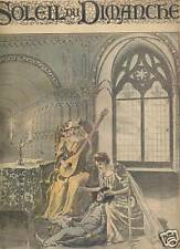 LE SOLEIL DU DIMANCHE 1892 N 9 PAR LE GLAIVE  RICHEPIN