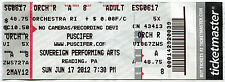 PUSCIFER 6/17/2012 Summer Tour Concert Ticket!! SOVEREIGN PERFORMING ARTS Pa