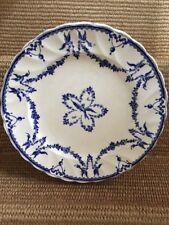 Powell Bishop Stonier CLARENDON BLUE WHITE BIRDS English PB&S FLOW DINNER PLATE