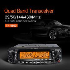 TYT TH-9800 Auto  Car Mobile Radio Amateur Transceiver Walkie Talkie Quad Band