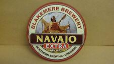 Blakemere Navajo Extra Ale Beer Pump Clip face Bar Pub Collectible