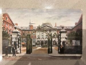 Postcard - Guy's Hospital London posted 1909