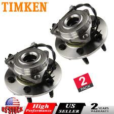 Timken (2) Wheel bearing Hub Front for 2007-14 Chevy Avalanche Suburban Escalade