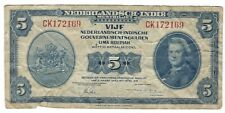 Netherlands Indies - 1943, 5 Gulden